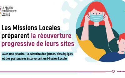 Réouverture de la Mission Locale le lundi 25 mai 2020